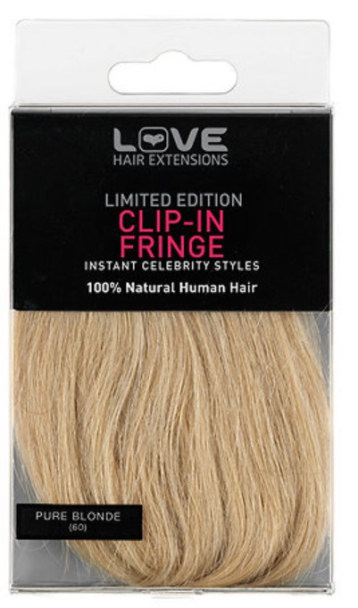 Human Hair Clip In Fringe Uk 12