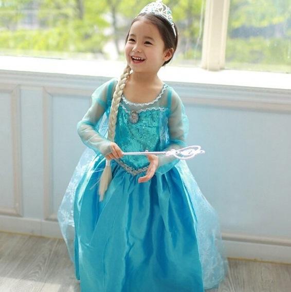 wish2  sc 1 st  Hollyu0027s Frugal Blog & Childrenu0027s Frozen Princess Elsa Costume only £5 including postage at ...