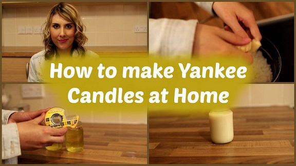 **NEW VIDEO** How To Make Yankee Candles At Home | Holly Vlogs