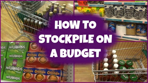 ***NEW VIDEO*** How To Stockpile On A Budget