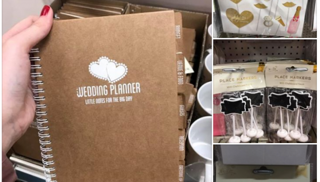 NEW Wedding Range at Poundland (and everything is £1)
